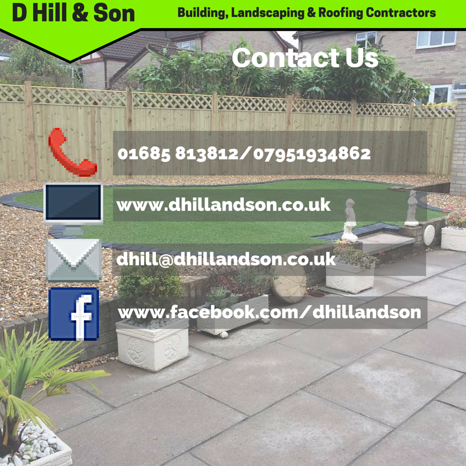 D Hill & Son Contact Details(1)